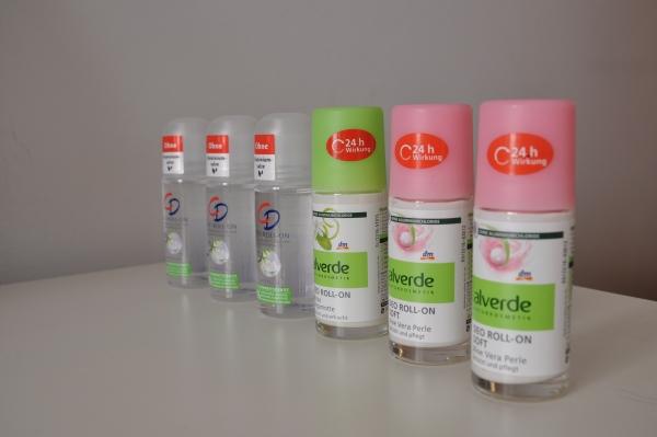 desodorantes de la marca alemana DM