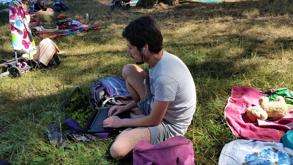 vida nómada en familia