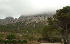 La sierra de Bernia, con niños
